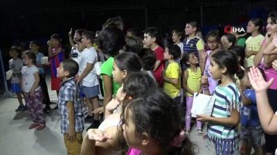cocuk senligi -  Pamukkaleli çocuklar şenliğe koştu