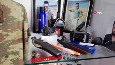 helikopter kaza -  Şehit Karaman'ın odası ilk günkü gibi duruyor