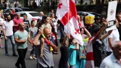 secim sistemi - Gürcistan'daki protestolar sürüyor - TİFLİS