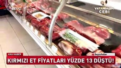Kırmızı et fiyatları yüzde 13 düştü
