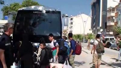 kacak gecis - 28 düzensiz göçmen yakalandı - ÇANAKKALE