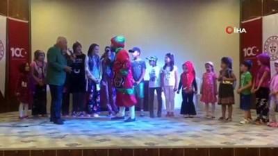cocuk senligi -  Çocuklar Goncagül tiyatrosu ile coştu