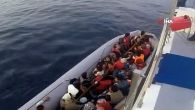 kacak gecis -  İzmir'de 202 kaçak göçmen yakalandı