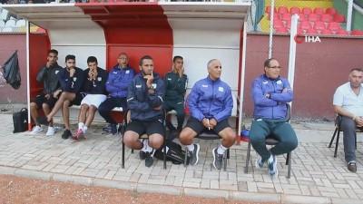 amator lig -  Fas Süper Lig takımları Şuhut'ta hazırlık maçı oynadı