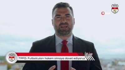 """amator lig - TPFD'den eski futbolculara çağrı: """"Hakem olun!"""""""