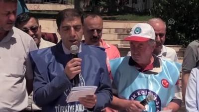 enflasyon hedefi - Türkiye Kamu-Sen'den basın açıklaması - BİLECİK