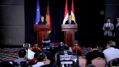 Almanya Savunma Bakanı Karrenbauer: 'Suriye'de güvenlik ve istikrarın sağlanması önemli' - ERBİL