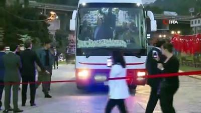 yayla turizmi -  Cumhurbaşkanı Erdoğan, Araklı'da restoran açılışına katıldı