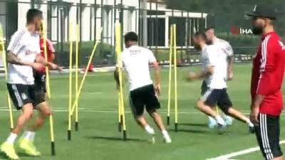 Beşiktaş'ta Nkoudou, idmanı yarıda bıraktı