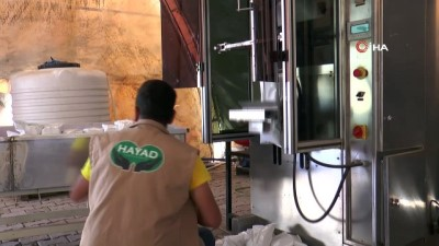 HAYAD'tan Suriye'ye su yardımı
