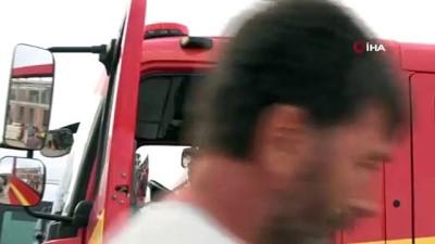 itfaiye muduru -  Isparta'da 49 metre yükseklikte ölümle burun buruna