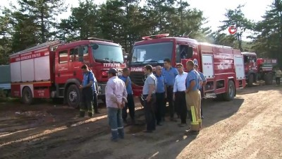 """Bursa Valisi Canbolat'tan orman yangını açıklaması: """"Şüphelerimiz var"""""""