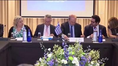 Yunanistan, GKRY, İsrail ve ABD arasında enerji zirvesi - ATİNA