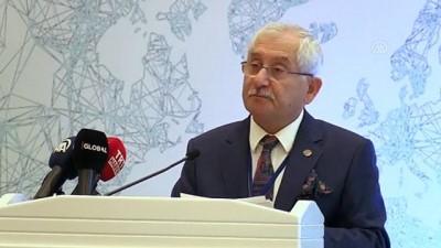 secim sistemi - 13 ülkeden 31 seçim komisyonu başkanı Ankara'da - YSK Başkanı Güven (2)