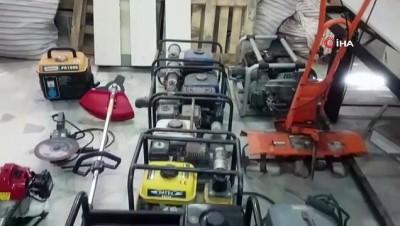 il jandarma komutanligi -  Tekirdağ'da tarım aletleri çalan hırsız İstanbul'da yakalandı