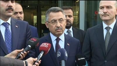 Cumhurbaşkanı Yardımcısı Fuat Oktay, İBB Başkanı 'davet edilmedi' iddialarına tepki