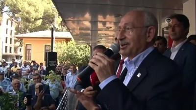 adalet yuruyusu - Kılıçdaroğlu: 'Türkiye'yi bir bütün olarak aydınlığa taşıyacağım' - AYDIN