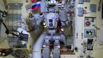 uzay istasyonu -  - Rusların Uzaya Gönderdiği İlk İnsansı Robot Dünya'ya Döndü