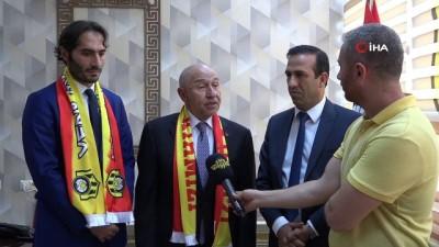 TFF Başkanı Özdemir'den Yeni Malatyaspor'da ziyaret