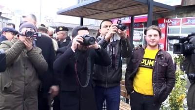 """calisan gazeteciler -  Nevşehir'de """"Basın Anıtı"""" açılışı yapıldı"""