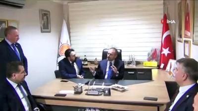 AK Parti Genel Başkan Yardımcısı ve Parti Sözcüsü Mahir Ünal Ayvalık'ta
