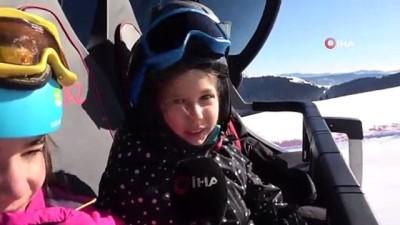 karne hediyesi -  Karnelerini alan öğrenciler, kayak merkezlerine koştu