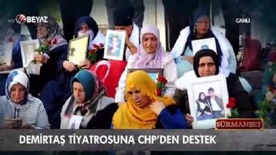 ferda yildirim - CHP-HDP ittifakı tiyatroda