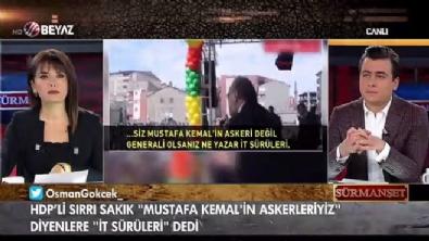 ferda yildirim - Osman Gökçek: 'Cumhuriyet kadınlığı HDP'lilerle bir araya gelmek midir?'