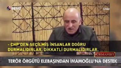 ferda yildirim - Terör örgütü elebaşından İmamoğlu'na destek