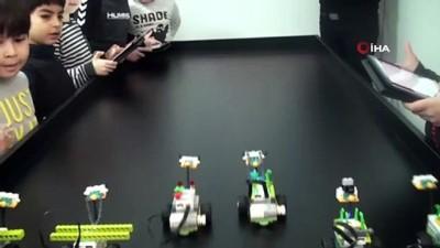 karne hediyesi -  Edremit Belediyesi'nden karne hediyesi robotik kodlama eğitimi