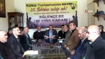 Isparta'daki 30 STK'dan eğlence mekanı kapanış saatinin erkene çekilmesine destek açıklaması