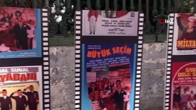 sinema salonu -  Münir Özkul ve Ayşen Gruda Beyoğlu'nda anıldı