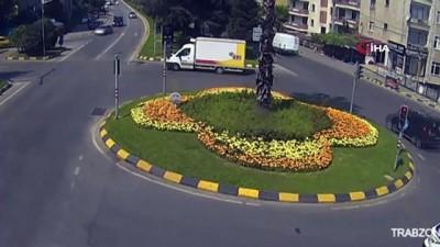 dikkatsiz surucu -  Trabzon'da sürücülerin ışık ihlalleri MOBESE kameralarına yansıdı