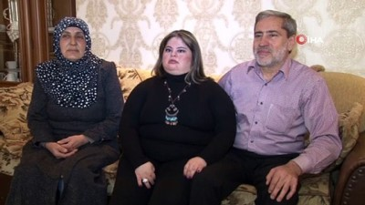 Down sendromlu Aişe'nin azim dolu hayatı