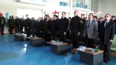 hakkaniyet -  Yüksekova'da TOKİ konutları için kura çekimi