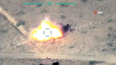 - Azerbaycan, Ermeni ordusuna ait hava savunma sistemi ve roketatarları imha etti
