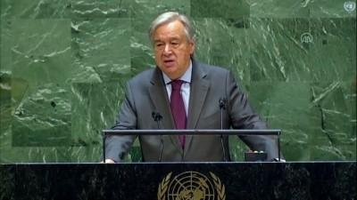 BM Genel Sekreteri  Guterres: 'Gelirde cinsiyet eşitliğinin sağlanması 172 trilyon dolar sermaye üretebilir' - NEW YORK