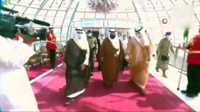 - Dünya liderleri taziye için Kuveyt'te