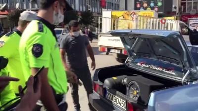 emniyet kemeri -  Emniyet kemersiz sürücülere ve modifiyeli araçlara ceza yağdı