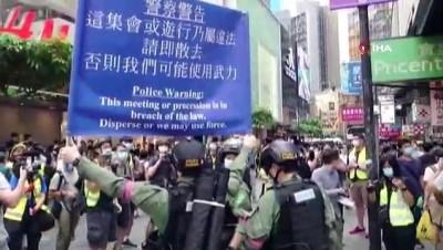 - Hong Kong'da Ulusal Gün kutlamalarında protesto endişesi