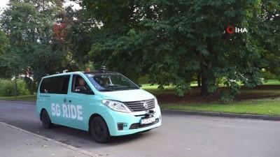 "- Stockholm'de elektrikli ""5G"" otonom minibüsü test etmeye başladı"