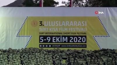Terörün temizlendiği bölgede Uluslararası Siirt Kısa Film Festivalinin finali yapıldı