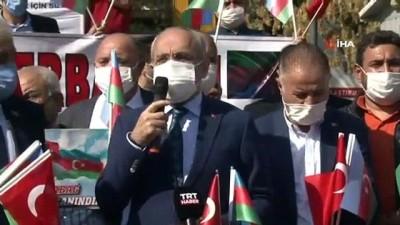 Başkent'ten Azerbaycan'a destek