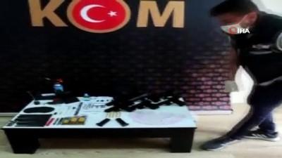Bursa'da uyuşturucu ve silah operasyonu