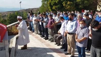 Kazada hayatını kaybeden uzman çavuş Osmancık'ta toprağa verildi