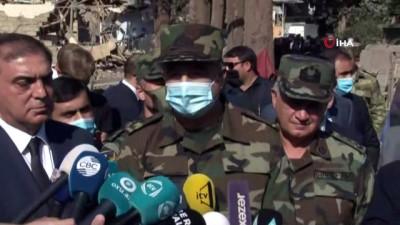 - Gence halkı Ermenistan saldırısında hayatını kaybedenleri andı