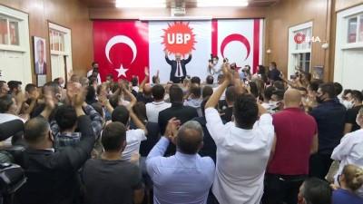 """KKTC Cumhurbaşkanı Adayı Tatar: """"UBP yüzde 33'e varan oy oranıyla zafer elde etmiştir"""""""