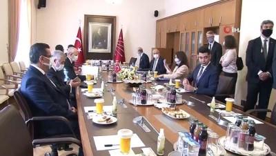 CHP Genel Başkanı Kemal Kılıçdaroğlu, İsveç Dışişleri Bakanı Ann Linde ile görüştü