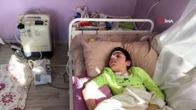 engelli kiz -  Doğuştan engelli küçük kızın doğalgaz hayali engele takıldı