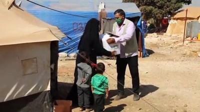 - İdlib'teki ailelere gıda yardımı - İçerisinde besin malzemeleri bulunan 2 bin 419 adet gıda kolisi dağıtıldı